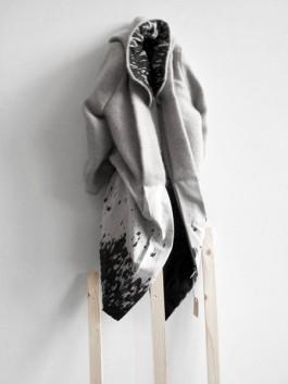 Nadine Goepfert Fur Marble Shine, Textiles, 2011